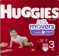 Huggies Little Movers Size 3 Diapers 66 Count