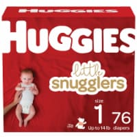 Huggies Little Snugglers Diapers Size 1
