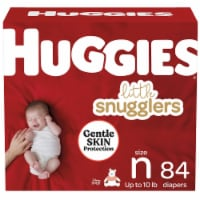 Huggies Little Snugglers Newborn Baby Diapers 84 Count