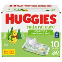 Huggies Natural Care Unscented Sensitive Baby Wipes