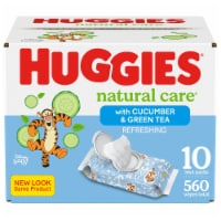 Huggies Refreshing Clean Cucumber & Green Tea Scent Baby Wipes