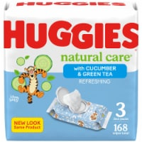Huggies Natural Care Refreshing Clean Scent Baby Wipes