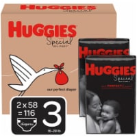 Huggies Special Delivery Size 3 Baby Diapers 116 Count