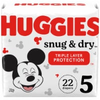 Huggies Snug and Dry Size 5 Diapers