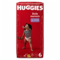 Huggies Little Movers Size 6 Diapers - 96 ct