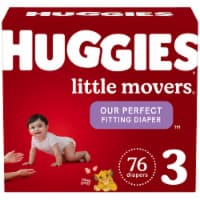 Huggies Little Movers Size 3 Baby Diapers