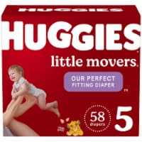 Huggies Little Movers Size 5 Diapers