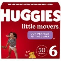 Huggies Little Movers Size 6 Diapers