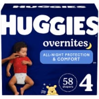 Huggies Overnites Size 4 Baby Diapers