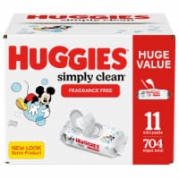 Huggies® Simply Clean® Fragrance Free Baby Wipes