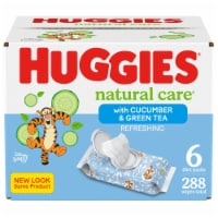 Huggies Natural Care Cucumber & Green Tea Wipes
