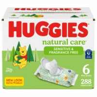 Huggies Natural Care Sensitive Fragrance Free Wipes