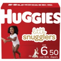 Huggies Little Snugglers Size 6 Diapers - 50 ct