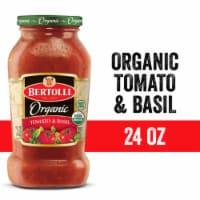 Bertolli Organic Tomato & Basil Sauce 24 Ounces