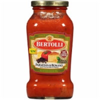 Bertolli Parmesan & Romano with Cracked Black Pepper Sauce
