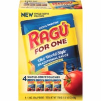 Ragu® For One Old World Style Traditional Sauce Single-Serve Pouches - 4 ct / 4.4 oz