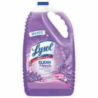 Lysol Brand Cleaner,Conc,Lvdr,144oz 88786EA - 1