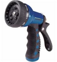 Dramm Heavy-Duty Metal 9-Pattern Spray Gun Nozzle - Blue
