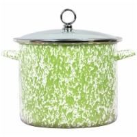 Reston Lloyd 8 qt. Stock Pot, Lime Marble