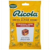 Ricola Original Natural Herb Cough Suppressant Throat Drops Family Pack
