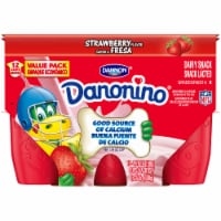 Dannon Danonino Strawberry Yogurt 12 Cups