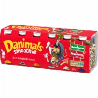 Danimals Strawberry Explosion & Wild Watermelon Smoothies Variety Pack 12 Count