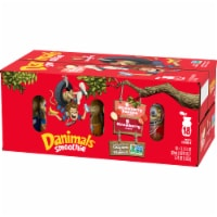 Danimals Strawberry & Strawberry Banana Yogurt Smoothies Variety Pack 18 Count