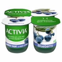 Activia Lowfat Blueberry Probiotic Yogurt