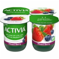 Activia Mixed Berry Lowfat Probiotic Yogurt