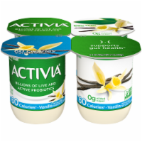 Activia Light Vanilla Nonfat Probiotic Yogurt