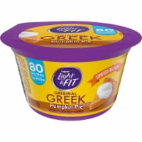 Dannon Light & Fit Original Pumpkin Pie Nonfat Greek Yogurt