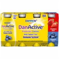 Dannon DanActive Strawberry & Blueberry Probiotic Daily Yogurt Drinks