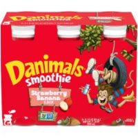 Danimals Swingin' Strawberry Banana Flavor Smoothie