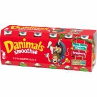 Dannon® Danimals® Strikin' Strawberry Kiwi & Strawberry Explosion Yogurt Smoothie - 12 ct / 3.1 fl oz