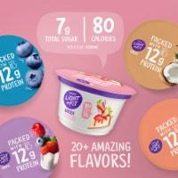 Dannon Light & Fit Blackberry Nonfat Greek Yogurt