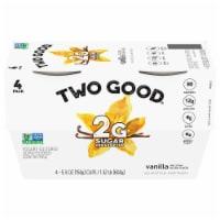 Two Good™ Vanilla Lowfat Greek Yogurt - 4 ct / 5.3 oz