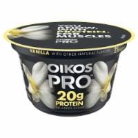 Dannon® Oikos Pro Vanilla Greek Yogurt - 5.3 oz
