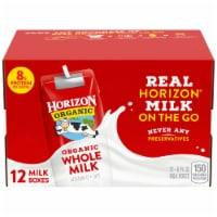 Horizon Organic® Whole Milk - 12 ct / 8 fl oz