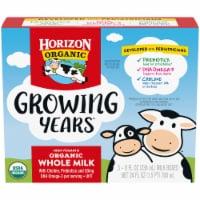 Horizon Organic® Growing Years Shelf-Stable Single-Serve Whole Milk Boxes with DHA Omega-3 - 3 ct / 8 fl oz