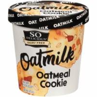 SO Delicious Oatmilk Oatmeal Cookie Frozen Dessert - 1 pt