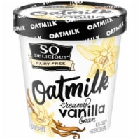 SO Delicious Oatmilk Creamy Vanilla Bean Frozen Dessert