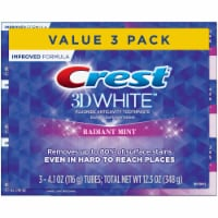 Crest 3D White Radiant Mist Fluoride Anticavity Toothpaste Value Pack