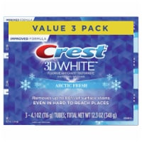 Crest 3D White Arctic Fresh Fluoride Anticavity Toothpaste Value Pack