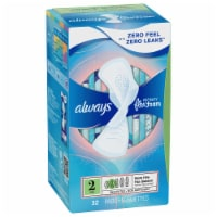 Always Infinity FlexFoam Size 2 Heavy Flow Unscented Pads with Wings