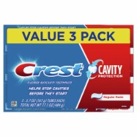 Crest Cavity Protection Regular Fluoride Anticavity Toothpaste Value Pack