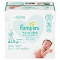 Pampers Sensitive Fragrance Free Baby Wipes - 7 pk / 64 ct