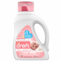 Dreft Stage 1 Newborn Baby Liquid Laundry Detergent