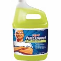 Mr. Clean Floor Cleaner,Liquid,1 gal.,Yellow,PK4  25045 - 1 gal.