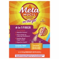 Metamucil Sugar Free Orange Smooth Fiber Powder Dietary Supplement