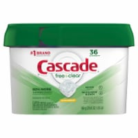 Cascade Free & Clear Lemon Essence Dishwasher Detergent ActionPacs